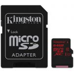 17 Kingston 64Gb sdca3/64gb microSDXC U3 UHS-I 90/80